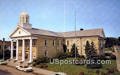Courthouse - Dodgeville, Wisconsin WI Postcard