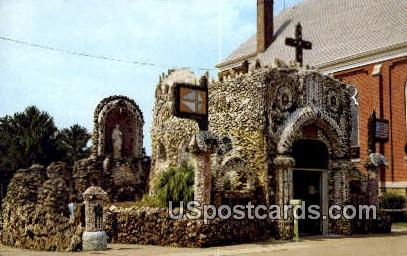 Dickeyville Grotto - Wisconsin WI Postcard