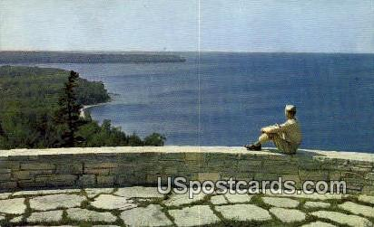 Lookout Point - Green Bay, Wisconsin WI Postcard