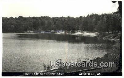 Pine Lake Methodist Camp - Westfield, Wisconsin WI Postcard