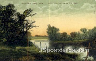 Beaver Dam, Wisconsin     ;     Beaver Dam, WI Postcard