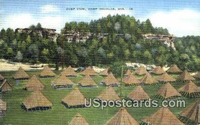 Camp View - Camp Douglas, Wisconsin WI Postcard