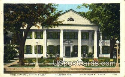 Hotel Crandall, The Dells - Kilbourn, Wisconsin WI Postcard