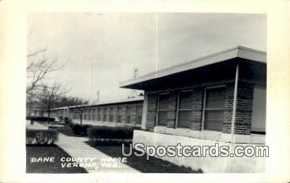 Dane County Home - Verona, Wisconsin WI Postcard
