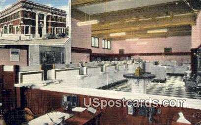 First & Lumbermen's Naitonal Bank - Chippewa Falls, Wisconsin WI Postcard
