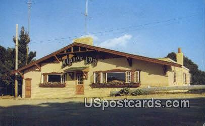 Alpine Inn - La Crosse, Wisconsin WI Postcard