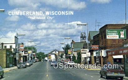Beaver Dame Lake - Cumberland, Wisconsin WI Postcard