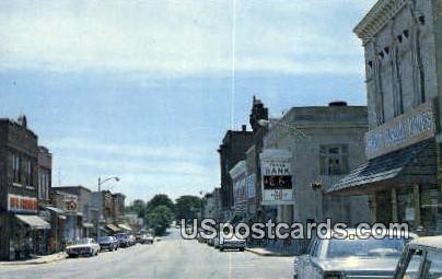 Dodgeville State Park - Wisconsin WI Postcard