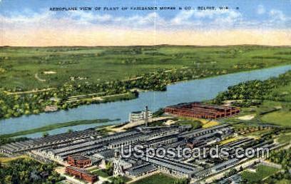 Plant of Fairbanks Morse & Co - Beloit, Wisconsin WI Postcard