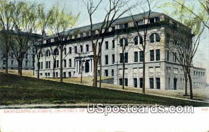 Engineering Building, U of Wisconsin - Madison Postcard