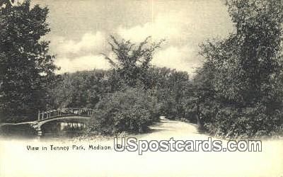 Tenney Park - Madison, Wisconsin WI Postcard