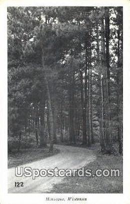 Minocqua, Wisconsin     ;     Minocqua, WI Postcard