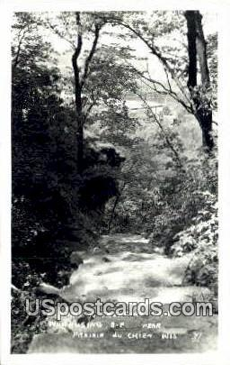 Trail to Treasure Cave - Prairie Du Chien, Wisconsin WI Postcard