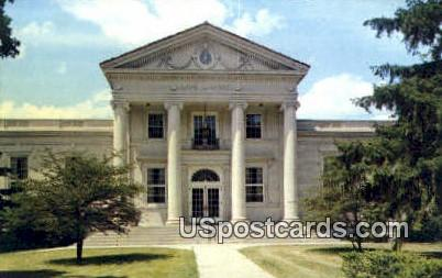 Ripon College, Lane Library - Wisconsin WI Postcard