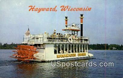 Namakagon Queen - Hayward, Wisconsin WI Postcard