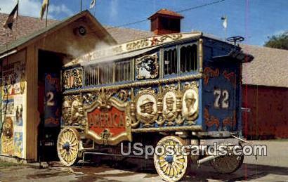 Circus World Museum - Baraboo, Wisconsin WI Postcard