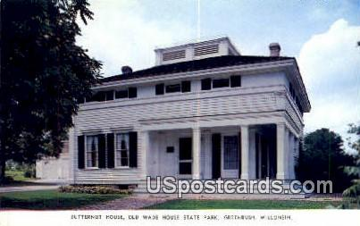 Old Wade House State Park - Greenbush, Wisconsin WI Postcard