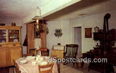 Basement Kitchen, Octagon House - Watertown, Wisconsin WI Postcard