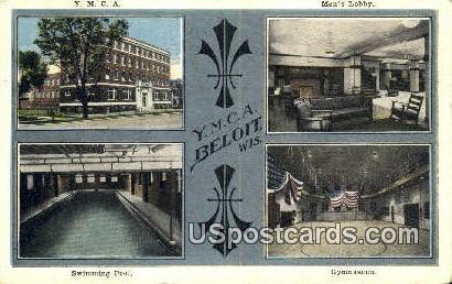 YMCA, Swimming Pool - Beloit, Wisconsin WI Postcard