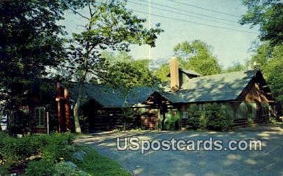 Main Lodge, Moody's Camp - Hayward, Wisconsin WI Postcard