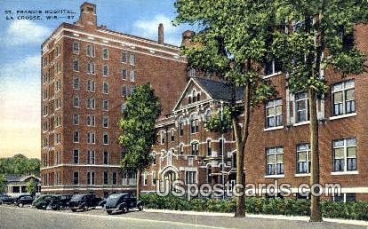 St Francis Hospital - La Crosse, Wisconsin WI Postcard