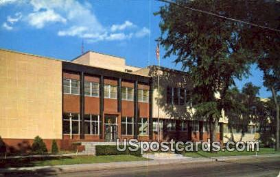 Court House - Stevens Point, Wisconsin WI Postcard