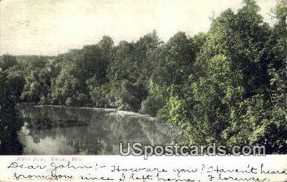 River View - Racine, Wisconsin WI Postcard