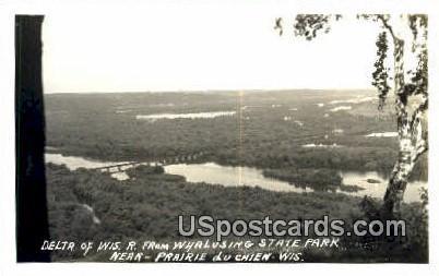 Wyalusing State Park - Prairie Du Chien, Wisconsin WI Postcard
