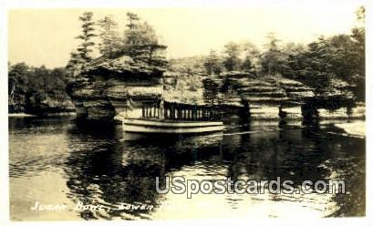 Sugar Bowl, Real Photo - Lower Dells, Wisconsin WI Postcard
