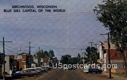 Blue Gill Capital - Birchwood, Wisconsin WI Postcard