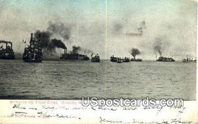 Yacht Races - Oshkosh, Wisconsin WI Postcard