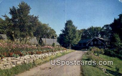 Hazen's Long Lake Lodge - Phelps, Wisconsin WI Postcard