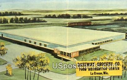 Food Distribution Center - La Crosse, Wisconsin WI Postcard