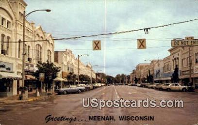 Neenah, Wisconsin     ;     Neenah, WI Postcard