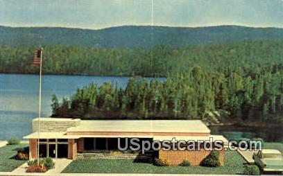 Future Home of Woodruff State ank - Wisconsin WI Postcard