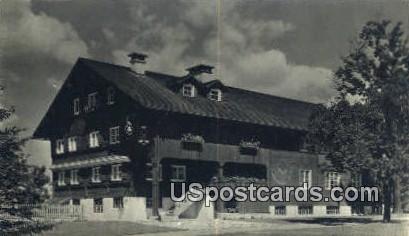 Waelderhaus, Girl Scout House - Kohler, Wisconsin WI Postcard