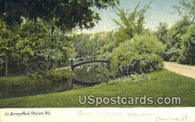 Jenney Park - Madison, Wisconsin WI Postcard
