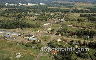 Indian Head Country - Minong, Wisconsin WI Postcard