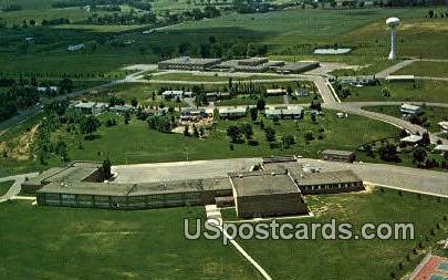 Rice Lake High School - Wisconsin WI Postcard