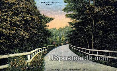 Abbotsford, WI     ;     Abbotsford, Wisconsin Postcard