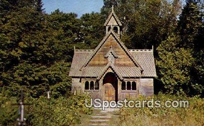 Boyington Chapel - Baileys Harbor, Wisconsin WI Postcard