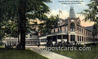 Prairie Du Chien Sanitarium - Wisconsin WI Postcard