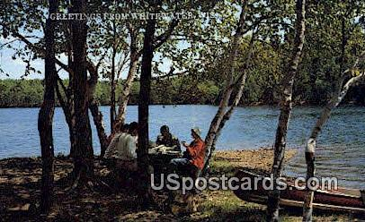 Whitewater, WI     ;     Whitewater, Wisconsin Postcard