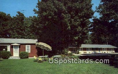 Parent Motel & Cottages - Door County, Wisconsin WI Postcard