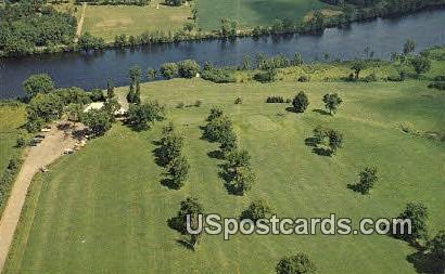 Tee-a-Way Golf Course - Ladysmith, Wisconsin WI Postcard