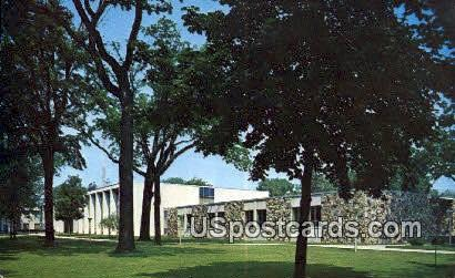 Walworth County Court House - Elkhorn, Wisconsin WI Postcard
