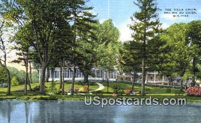 Villa Louis - Prairie Du Chien, Wisconsin WI Postcard