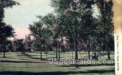 Myrick Park - La Crosse, Wisconsin WI Postcard