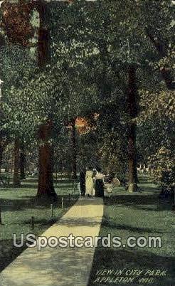 City Park - Appleton, Wisconsin WI Postcard