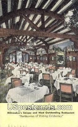 Karl Ratzsch's, Restaurant - MIlwaukee, Wisconsin WI Postcard